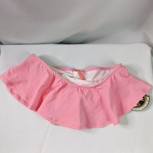 Juicy Couture Pink Skirted Swim Suit Bottom NEW